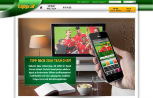 Tipp3 mobile App für iPhone, iPad und Android