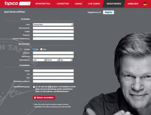 Tipico: Anmelden & Registrieren – so funktioniert es!