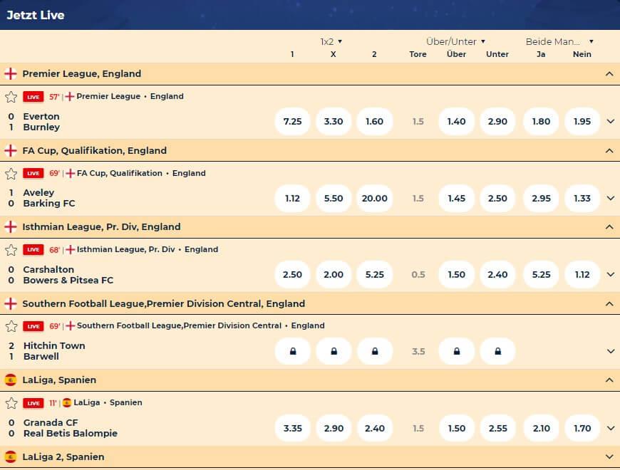 Wazamba Sport Sportwetten – Erfahrungen und Bewertung 2021