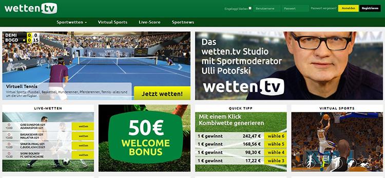 Wetten.tv Sportwetten – Erfahrungen und Bewertung