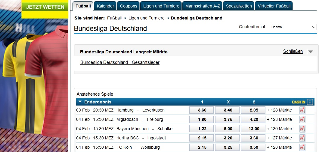 William Hill Bundesliga