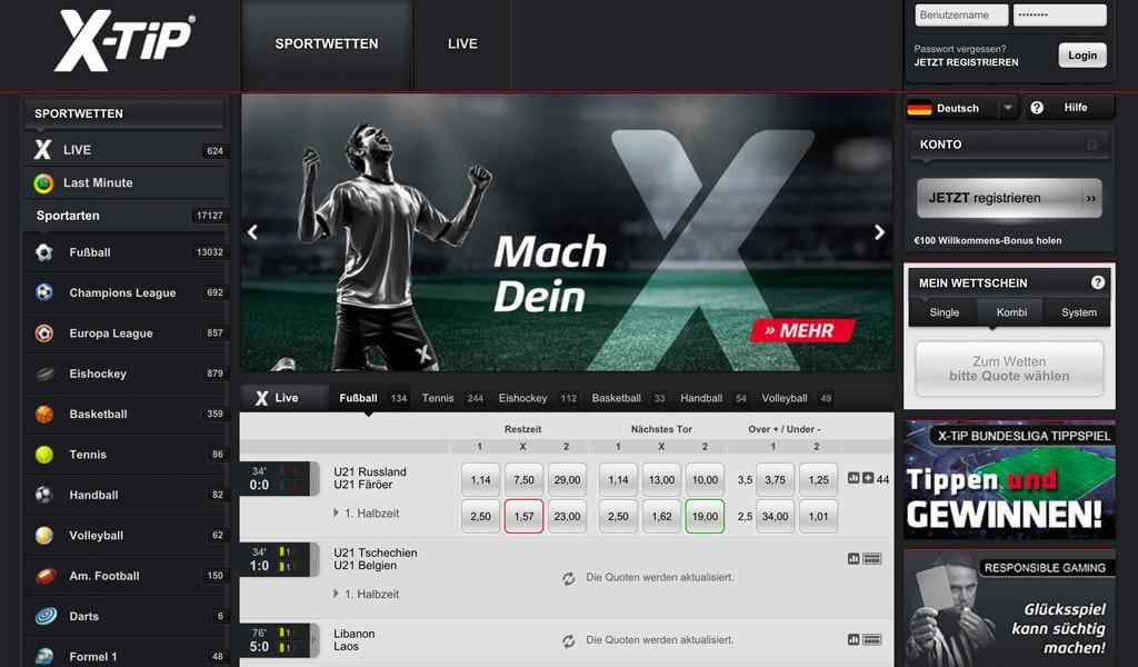 X-Tip Steuer / Wettsteuer 2017 – 5% auf Sportwetten?