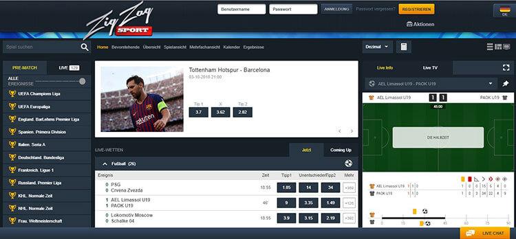 ZigZag Sport Sportwetten Erfahrungen – Test & Bewertung 2021